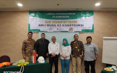 Pelatihan & Sertifikasi KOMPETENSI AHLI MUDA K3 KONSTRUKSI JAKARTA